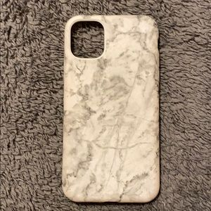 Apple iPhone 11 White Marble Phone Case